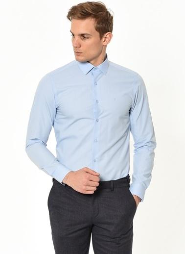 Altınyıldız Classics Slim Fit Gömlek Mavi
